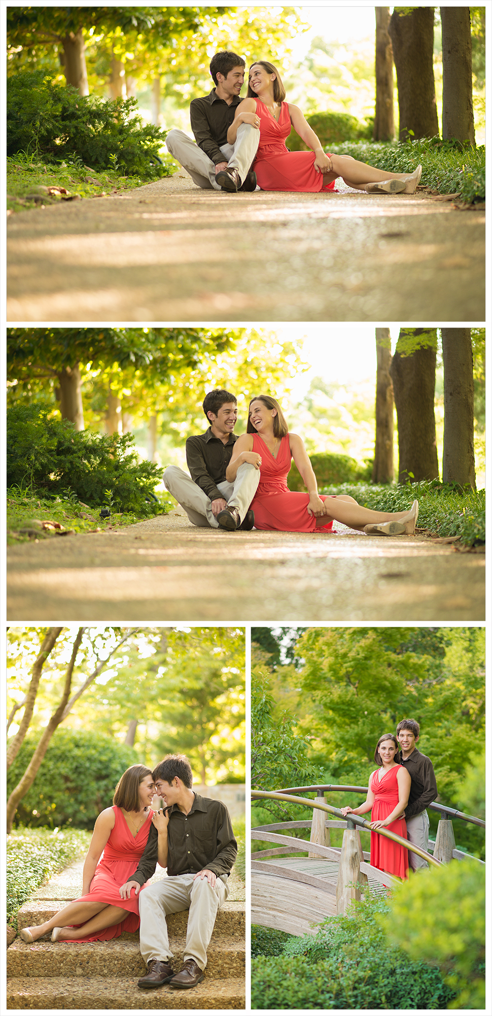 J k engagement fort worth photographer angela wynn - Fort worth water gardens wedding ...