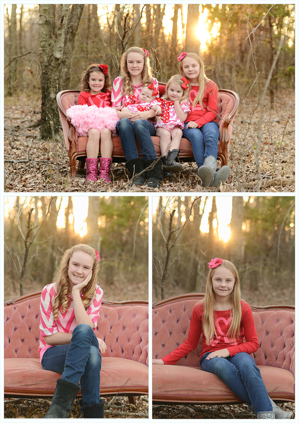 Valentine Mini Session Grapevine Photographer Angela